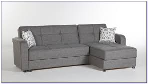 Sleeper Sectional Sofa With Chaise Gus Grey Small Sleeper Sectional Sofa By Coaster Company Sofas
