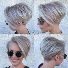 short hair with length at the nape of the neck pixie haircuts with bangs 50 terrific tapers