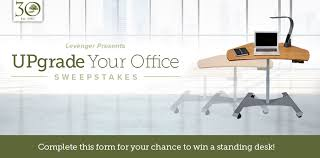 levenger upgrade your office sweepstakes