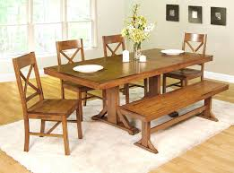 bench seat dining table bench seat dining room furniture