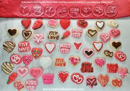 valentines day cookies s day cookies creative cookie press