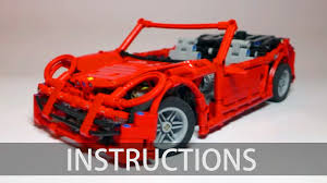 porsche instructions technic porsche 911 building instructions youtube