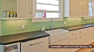 green subway tile kitchen backsplash can you guess our most popular color of glass subway tile
