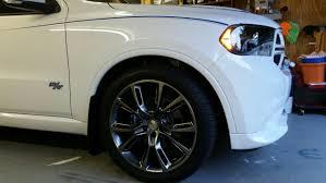 dodge durango tire size stock wheels size