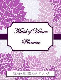 of honor planner of honor wedding planner organizer by organizedbride