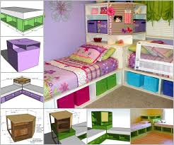 Storage Units For Kids Rooms by Best 25 Corner Twin Beds Ideas On Pinterest Corner Beds Twin