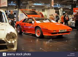 lotus esprit classic sports car at the 2014 nec classic car show