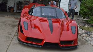 car ferrari pink canadian builds ferrari enzo lookalike jet car