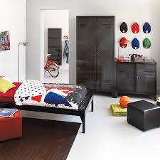 armoire chambre alinea lofter armoire 2 portes en métal gris gris alinea 95 0x200 0x50