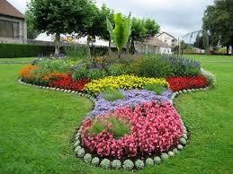 garden beautiful flower bed designs ideas excellent colourful