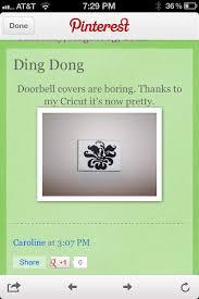 Interior Doorbell Cover 42 Best Doorbells Images On Pinterest Doorbell Cover Hardware