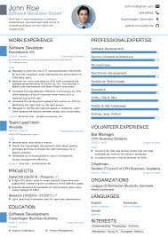 Example Of Simple Resume For Student by 2017 Professional Résumé Templates For Your Dream Job