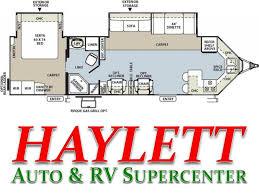 Afc Dealer Floor Plan by 2013 Forest River Rockwood Windjammer 3008w Travel Trailer