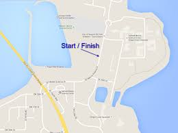 Map Of Newport Oregon by Newport Celebration Run