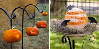 Halloween Decorations Outdoor Lighting by 125 Cool Outdoor Halloween Decorating Ideas Digsdigs