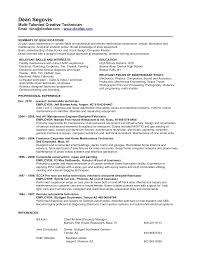 Cv Plumbing by Resume Templates Hvac And Refrigeration Resume Hvac Resume