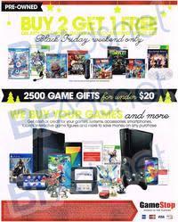 gamestop black friday 2014 ad scan