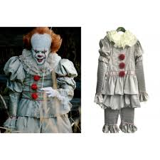 Metal Gear Halloween Costume Deluxe Mens Movie Pennywise Halloween Costume Beige