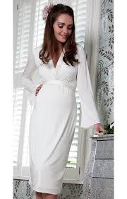 miko maternity dress ivory maternity wedding dresses evening