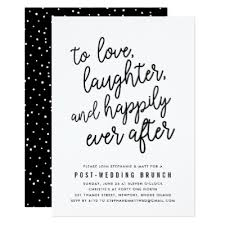 post wedding brunch invitations day after wedding brunch invitation wedding vows zazzle
