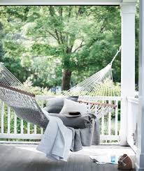 15 inspirational examples of summer hammocks on a porch shelterness