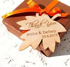fall wedding favors wedding favor tags personalized wedding favor tags