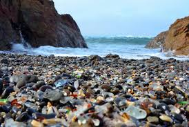 Glass Beach Extraordinary Shores The Most Bizarre Beaches Around The World