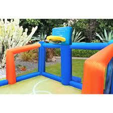 sportspower inflatable slama jama basketball court walmart com