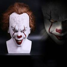 scariest masks clown mask ebay