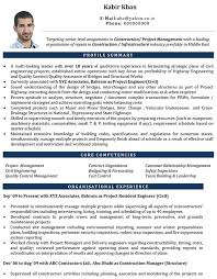 Civil Engineer Resume Examples by Civil Engineer Cv Format U2013 Civil Engineer Resume Sample And Template