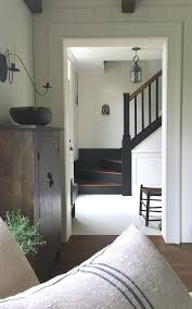 love this simple farmhouse style old house entryway u0026 stairway
