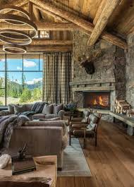rustic home interior rustic chic mountain home in the rocky mountain foothills