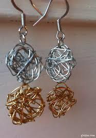 wire earrings spun wire earrings diy picklee