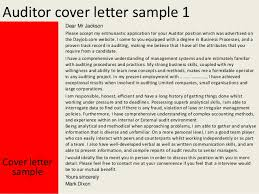 best solutions of sample audit report cover letter with additional