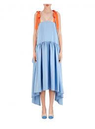 light blue silk dress fendi women 27s fd9545o2rf10bp light blue silk dress