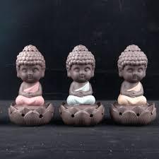 buddha statue incense cones ceramic incense burner stove disc