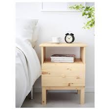 bedside table tarva nightstand ikea