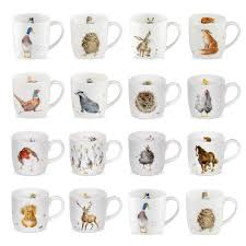 wrendale designs countryside animal wild animal mugs wild