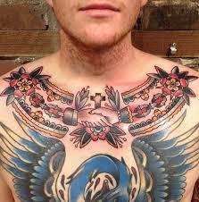 traditional chest tatoo tattoos