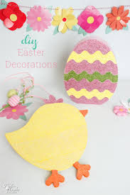 Easter Decorations Paper by Corlorful And Easy Diy Easter Decorations For The Home