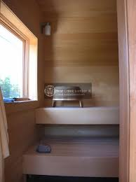 bear creek lumber featured projects alaskan yellow cedar sauna