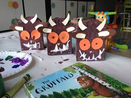 cereal box gruffalos virtual book club for kids pinterest