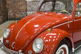 orange volkswagen beetle 1966 volkswagen beetle 1300