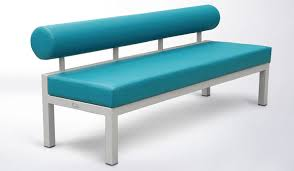 Contemporary Upholstered Bench Contemporary Upholstered Bench Leather Stainless Steel For