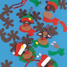 holiday kids activity reindeer ornament craft kit u2013 crafts for