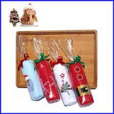 christmas towel gift santa claus snowflake xmas tree belt buckle 4