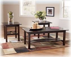 3 Pc Living Room Set Contemporary 3 Pc Coffee End Table Set Living Room
