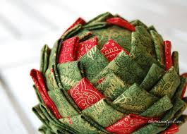 quilted pine cone ornament pattern e book no sew the ornament