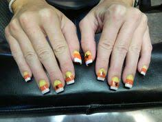 candy corn nails nail designs pinterest candy corn nails