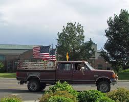 american flag truck boise daily photo all american truck